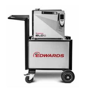 Detektor próżniowy ELD na wózku transportowym